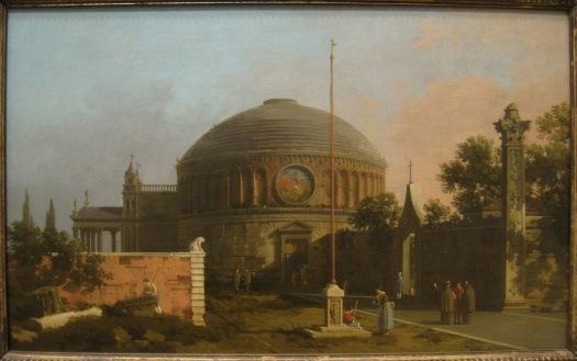 Capriccio_-_A_Circular,_Domed_Church,_by_Canaletto_(1697-1768)_-_IMG_7319