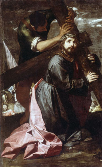 Alonso Cano, 1635-7, Christ Bearing the Cross, wORCESTER aRT mUSEUM, 1635-37