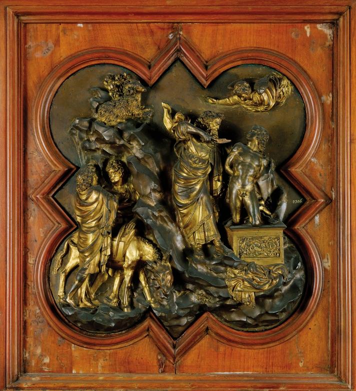 גיברטי, עקדת יצחק, 1401-2