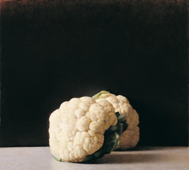 ארם גרשוני, כרוביות, 2006, שמן על לוח עץ