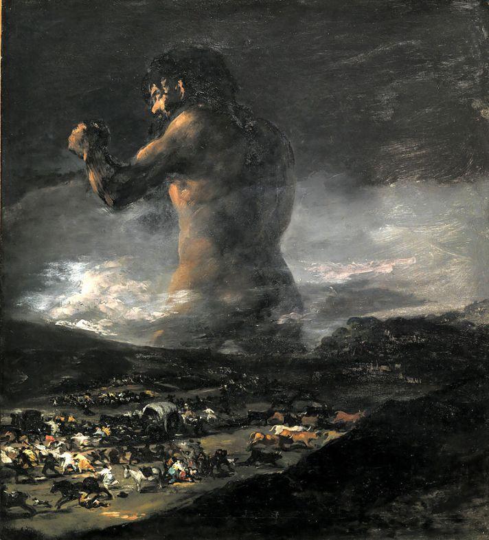 גויא, הענק, 1808-12