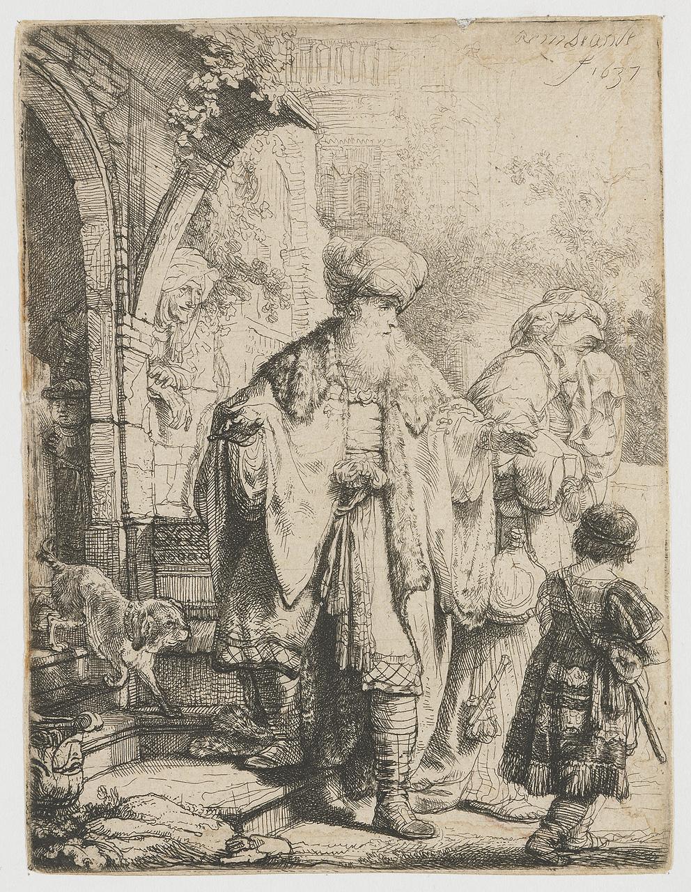 abraham-dismissing-hagar-1637