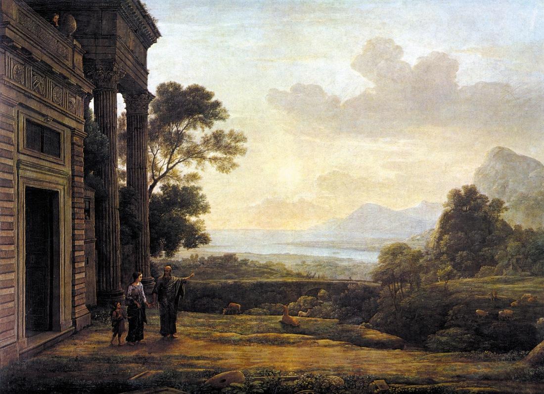 Claude_Lorrain_-_Die_Verstoßung_der_Hagar_(1668)