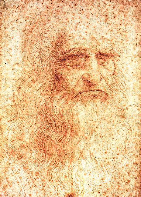 לאונרדו, דיוקן עצמי, 1512