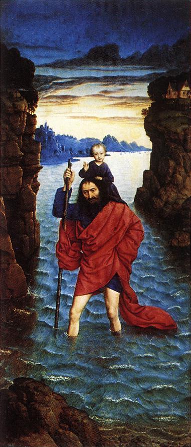 דירק בוטס, כריסטופר הקדוש, 1470 לערך, הפינקותק הישן, מינכן