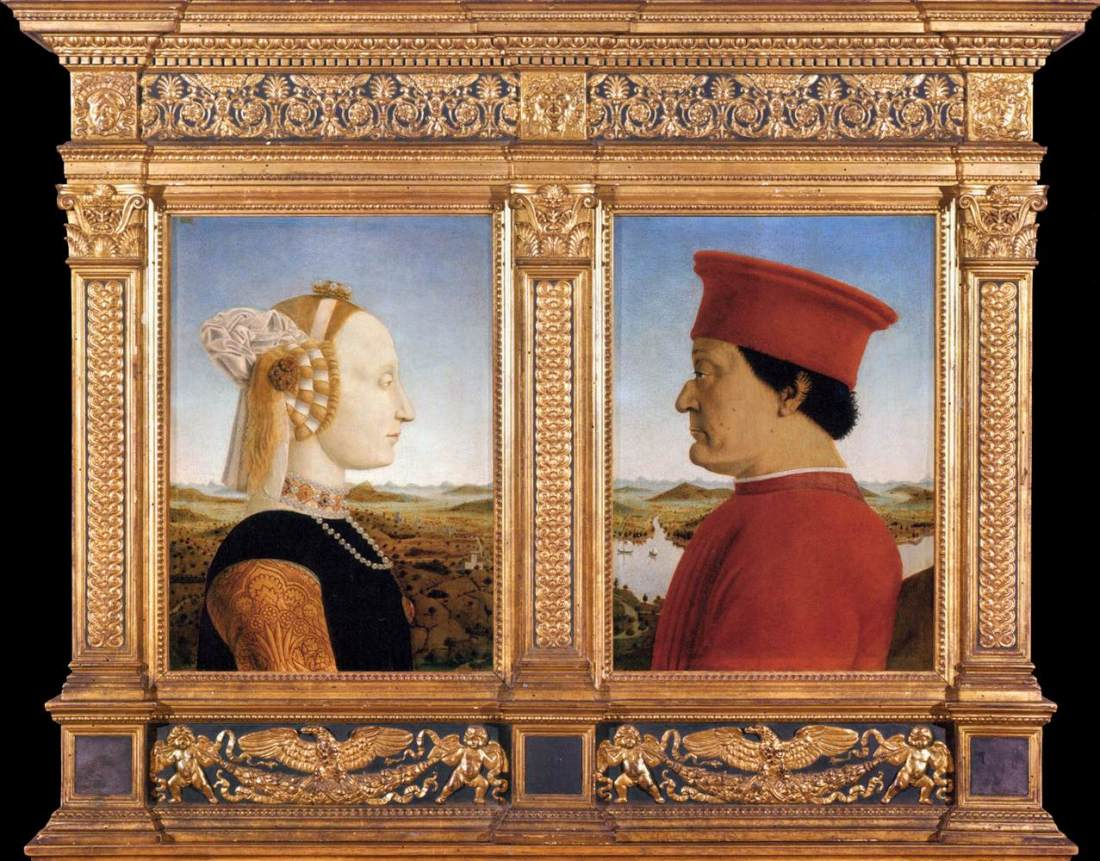 Portraits of Federico da Montefeltro and His Wife Battista Sforza.jpg