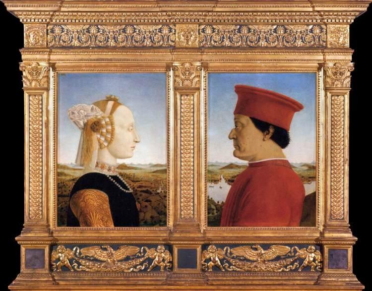 Portraits of Federico da Montefeltro and His Wife Battista Sforza.jpg