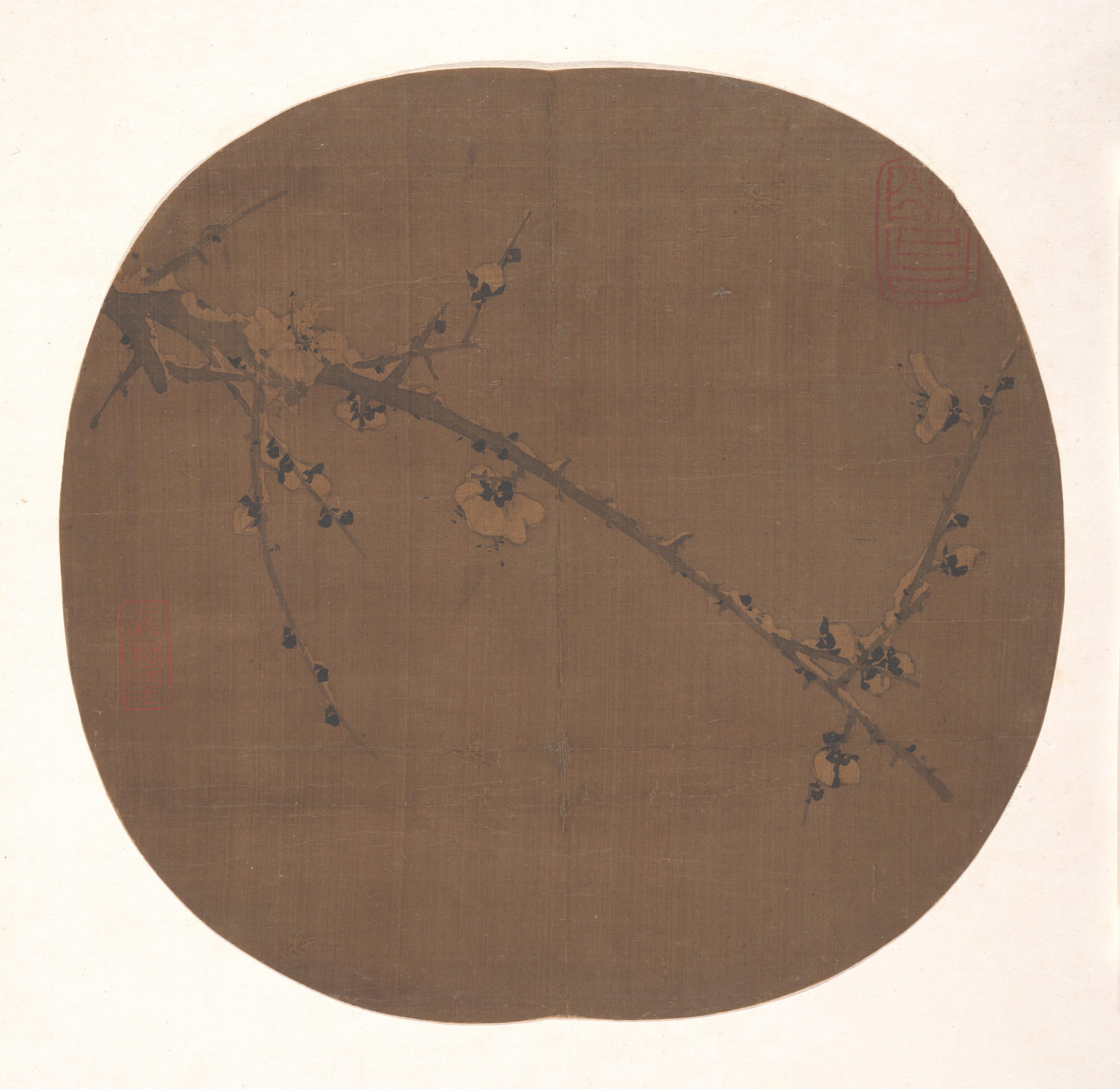 צייר סיני לא ידוע, שזיף בשלג, המטרופוליטן.jpg
